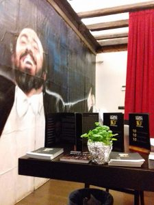 L'erìsimo al Pavarotti Restaurant Museum