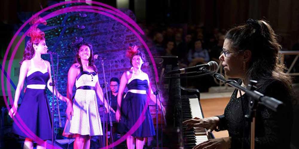 Silvia Zaru Quartet meets Ladies in Tune